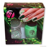 W7 NAIL BLING SET - GREEN DEVIL x 1