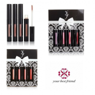 YBF POWERFUL POUT LIP LACQUER QUAD - ASSORTED x 3
