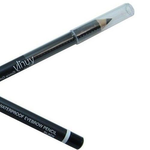 YURILY GOSSIP GIRL WATERPROOF EYEBROW PENCIL BLACK x 12