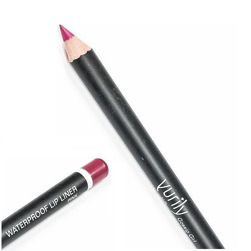 YURILY GOSSIP GIRL WATERPROOF LIP LINER PINK x 12