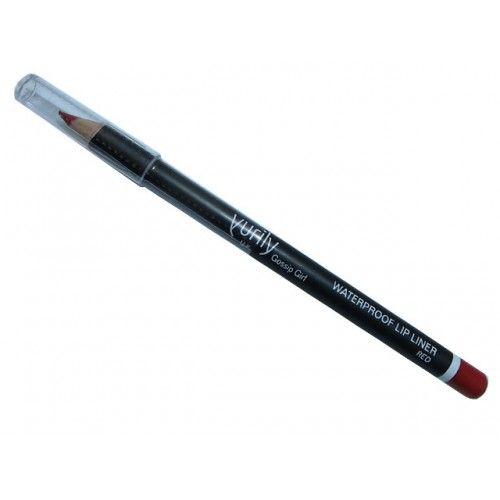 YURILY GOSSIP GIRL WATERPROOF LIP LINER RED x 12