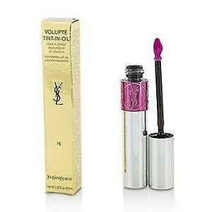 YSL Yves Saint Laurent 6ml Volupte Tint-In-Oil Lip Colour 19 Pink Me Now x 1